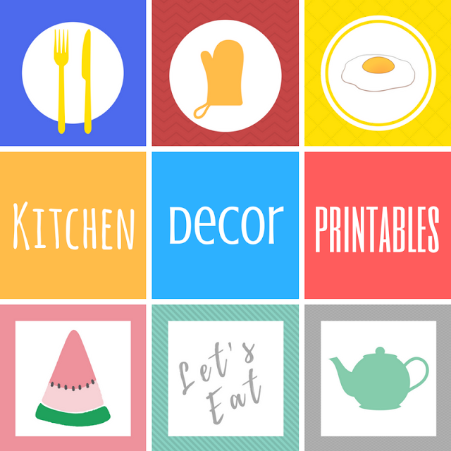Keeping it Real: Kitchen Decor Free Printables
