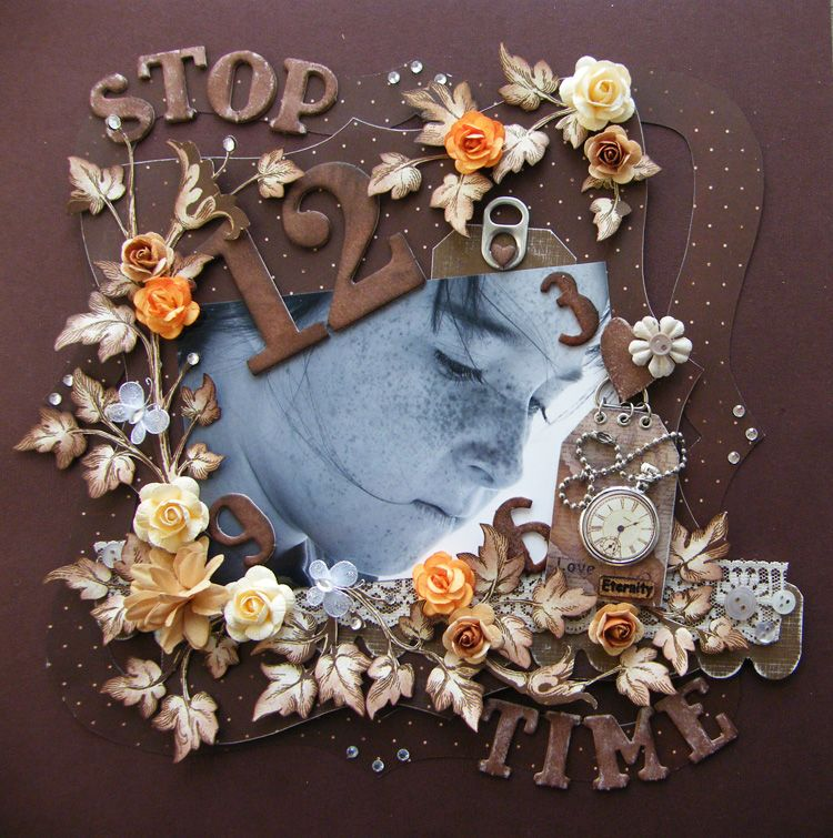 Stop Time - Scrapbook.com