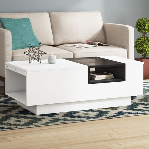 Wade Logan Cortez Coffee Table Furniture Center Table Living