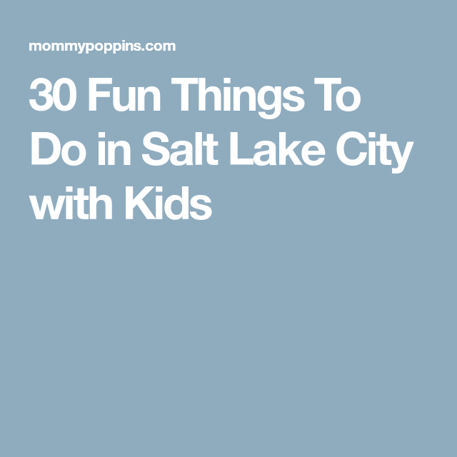 Fun date ideas in salt lake