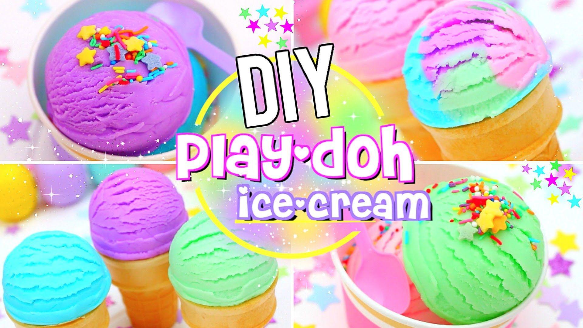 Diy edible play dough ice cream youtube diys pinterest diy edible play dough ice cream youtube ccuart Image collections