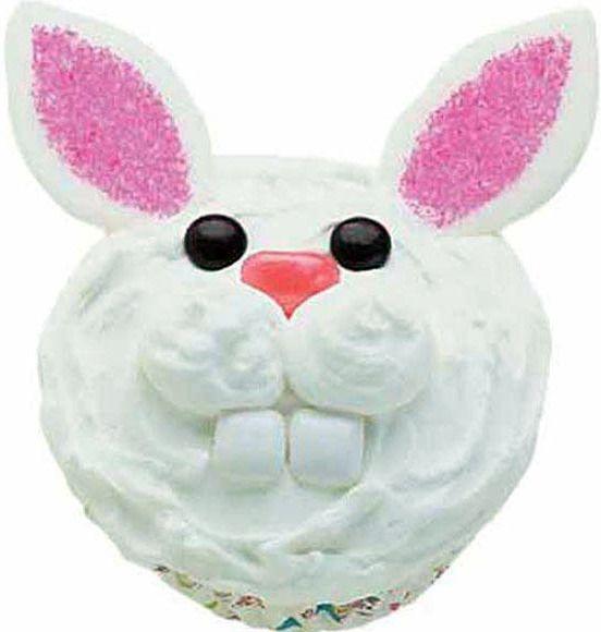 easter bunny cupcakes ideas