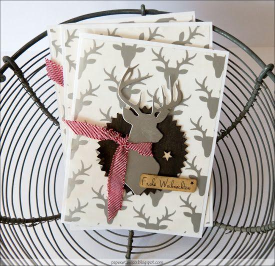 Die Hirschtüte - Mary-Jane´s Weihnachtskarten Challenge
