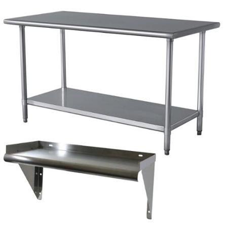 Kitchen Work Bench 430 Stainless Steel Table Restaurant Style Prep Table 1 5m Cozinha Industrial Armario Cozinha Moveis De Metal