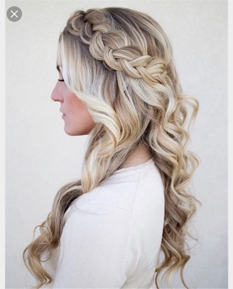 Diy Wedding Hair Half Up: Pin By Alyssa Umberger On Happily Ever After