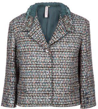 I love this jacket. ShopStyle: Antonio Marras Embellished jacket