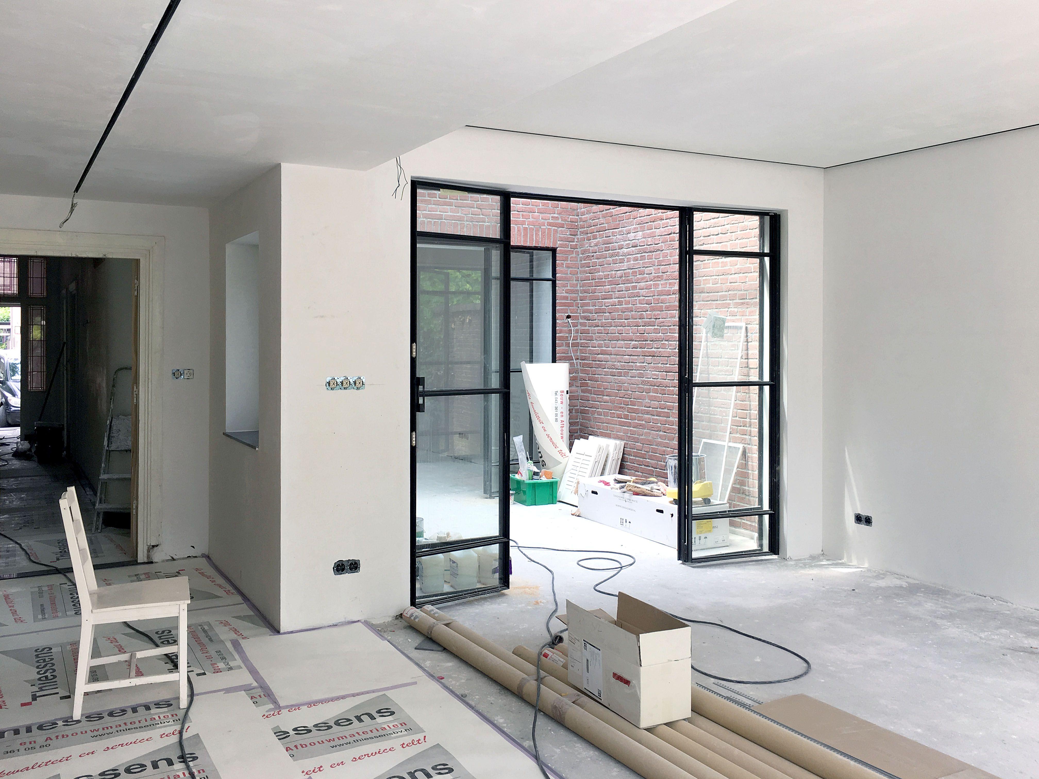 Keuken Design Maastricht : Jaren woonhuis maastricht de wanden en plafonds in de keuken
