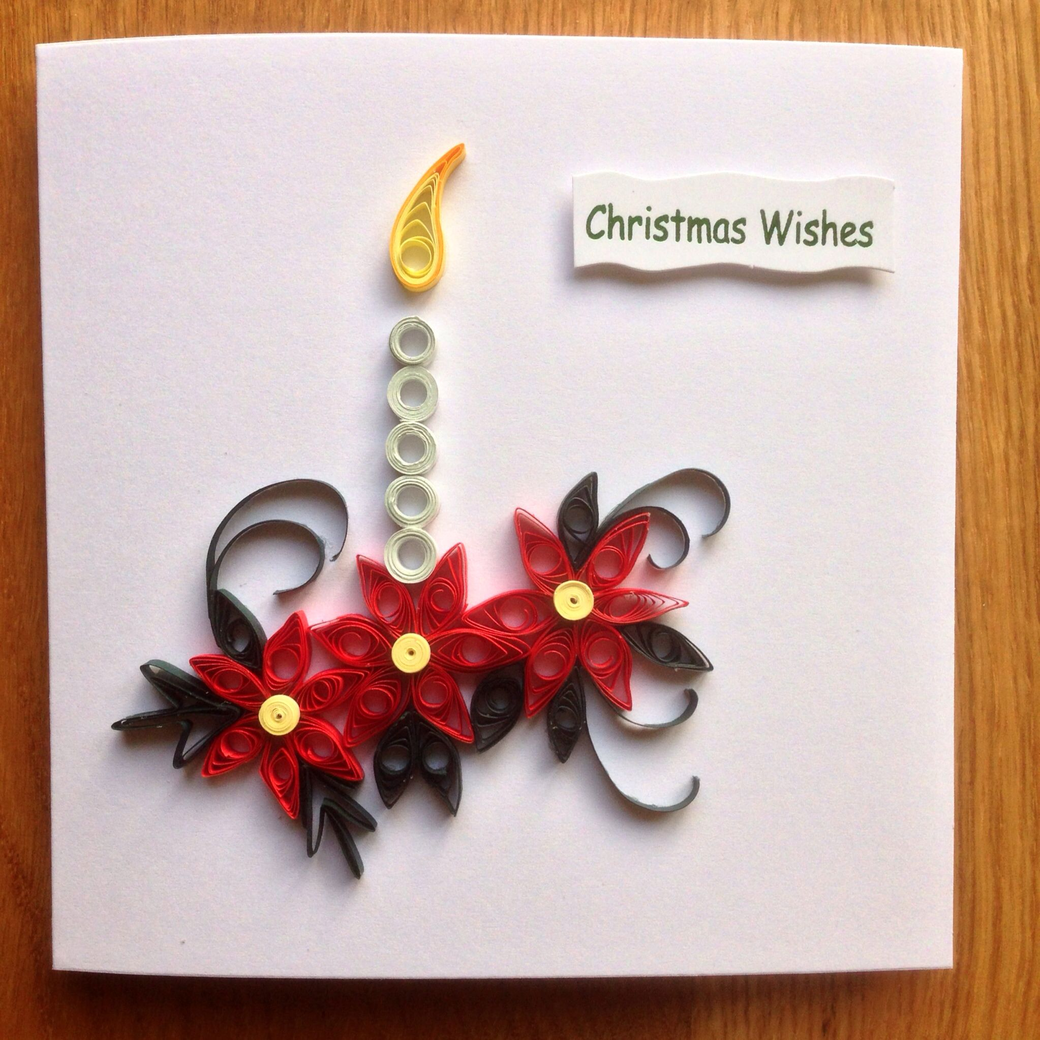 Quilling Christmas Card 2013