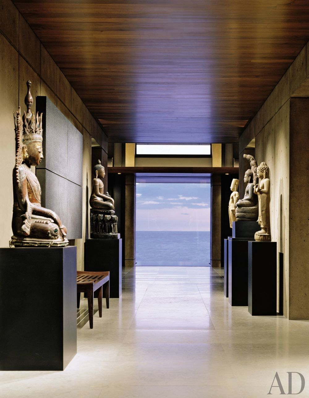 Exotic Entrance Hall by Anne Gunderson and Olson Sundberg Kundig ...