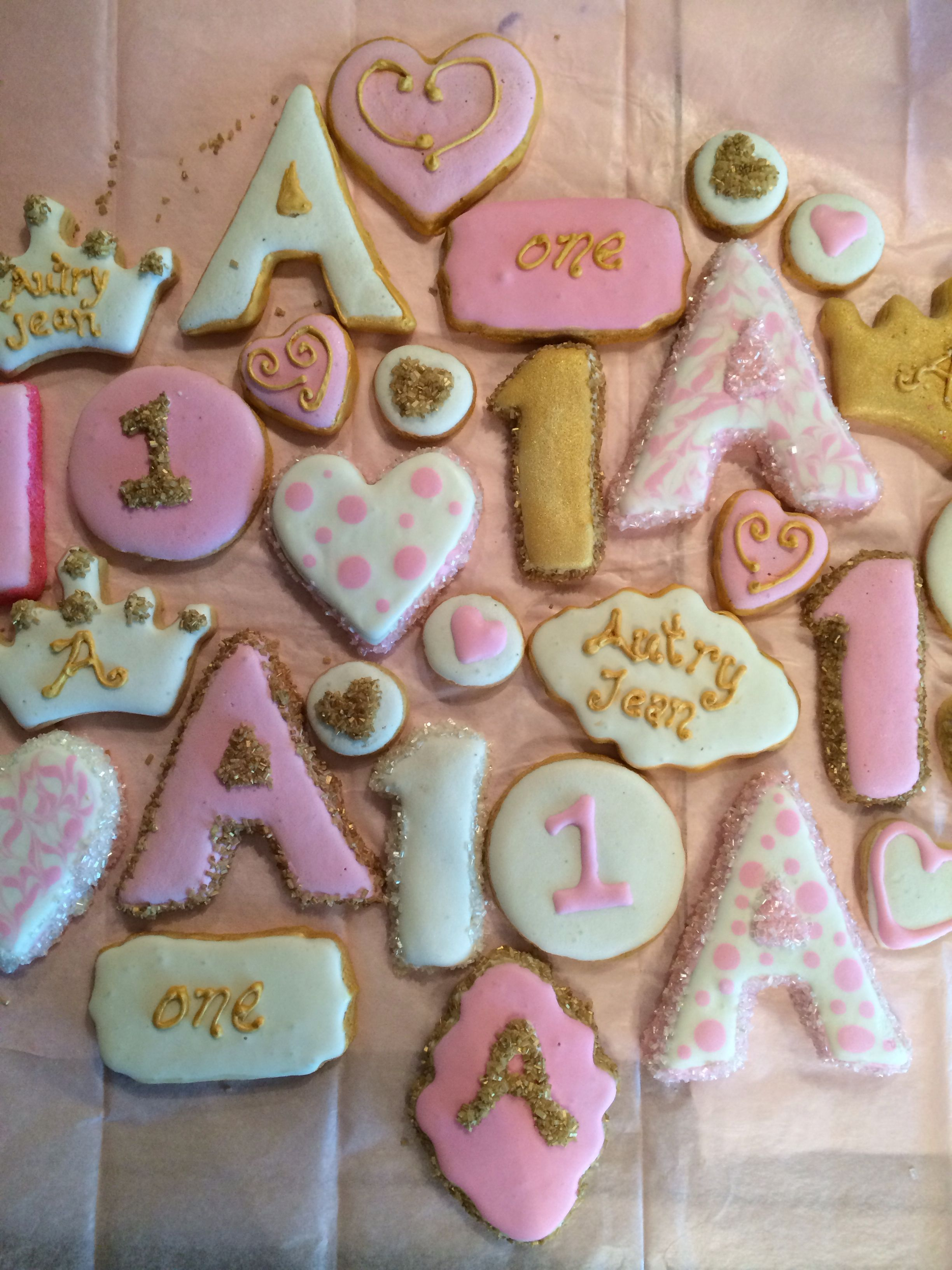 Pink & Gold Birthday!