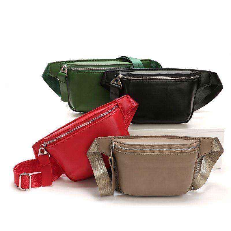 2b17d70a6e5 PU Black Waist Bag Women Designer Fanny Pack Fashion Belt Bag Female Mobile  Pack  fashion  clothing  shoes  accessories  womensbagshandbags (ebay link)