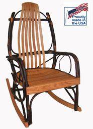 amish bentwood rocker hickory oak free shipping bentwood rocker rocking chair amish rocking chairs pinterest