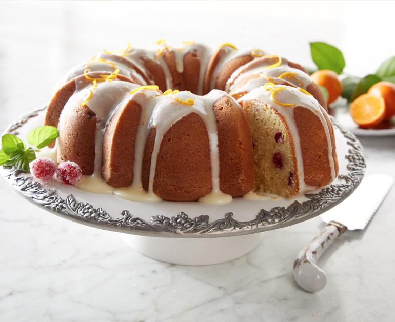 Thanksgiving Recipes Daisy Brand Cranberry Orange Pound Cake Sour Cream Pound Cake Daisy Sour Cream