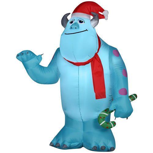 BIG 3.5' Disney INFLATABLE Aladdin Genie Claus OUTDOOR
