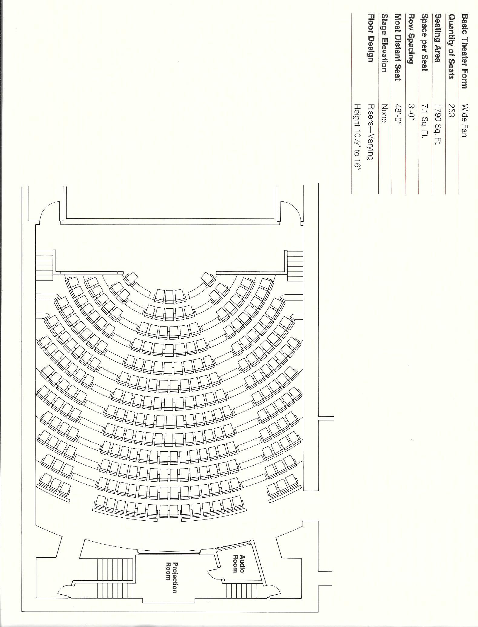 Room Design Layout Templates: Pin By Theatre Solutions Inc. On Auditorium & Fixed