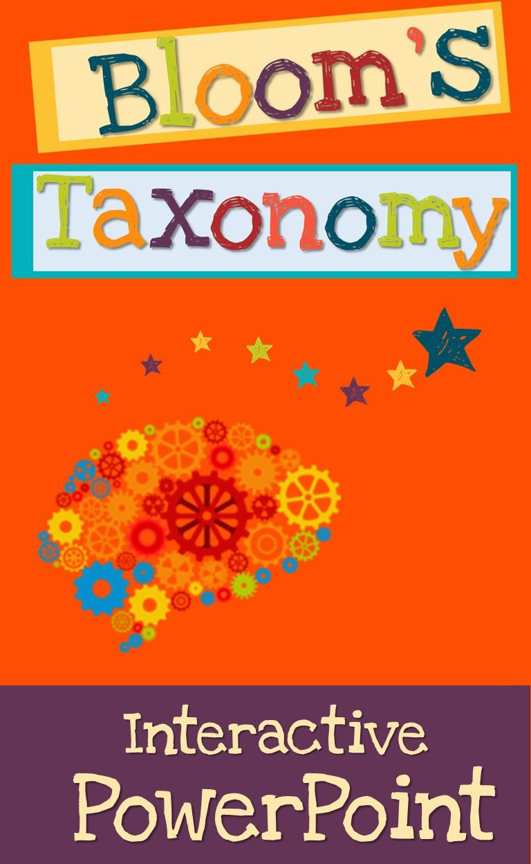bloom s taxonomy interactive powerpoint creative and critical
