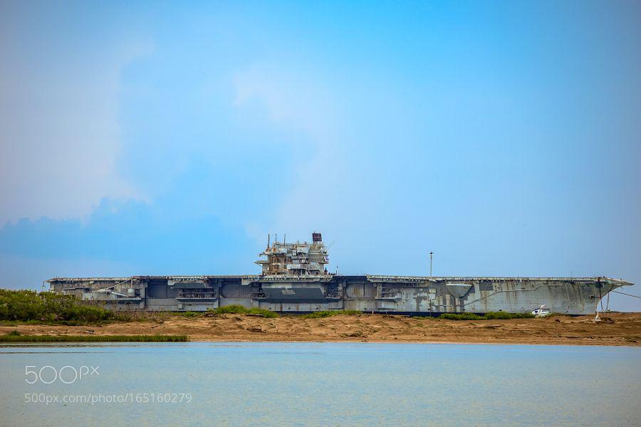 USS Saratoga Final Trip by clem2099