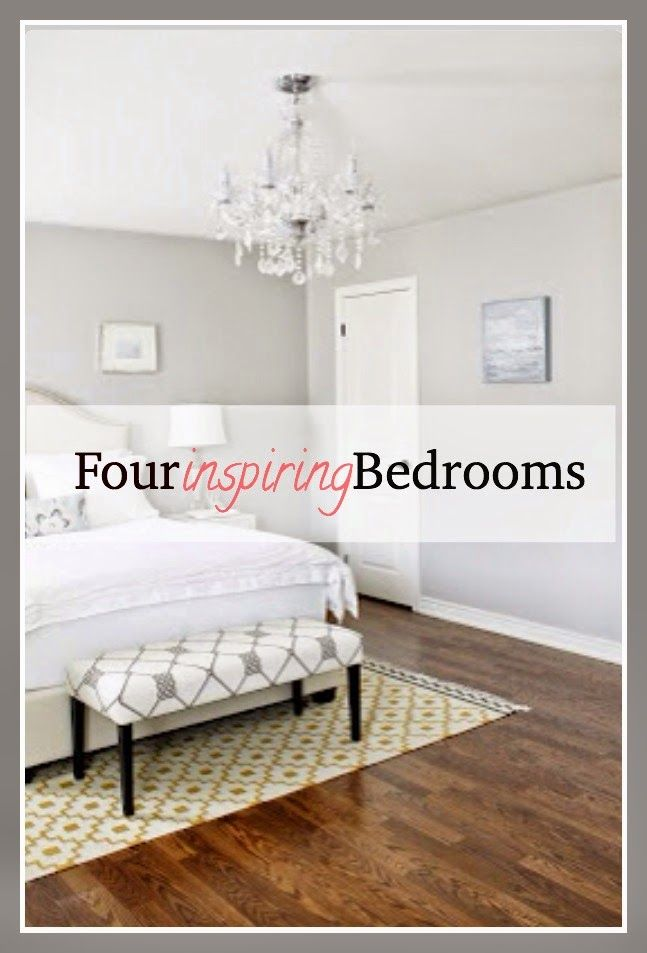 Four Inspiring Bedrooms With Images Bedroom Inspirations Bedroom Inspiration