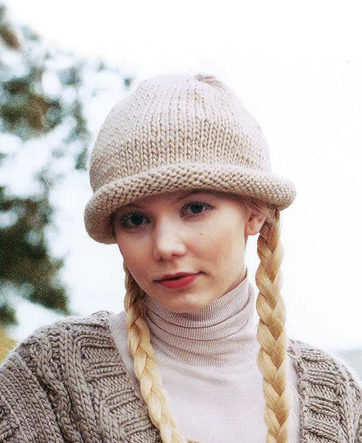 Snug Hat By Cathy Carron In Rowan Cocoon Httpmcadirect