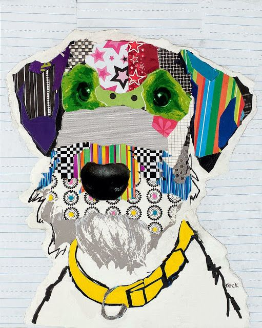 #Dog Collages by Michel Keck