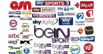 ARABIC TV BOX IPTV +900 HD CHANNELS (BEIN SPORTS,OSN NETWORK,MBC AND