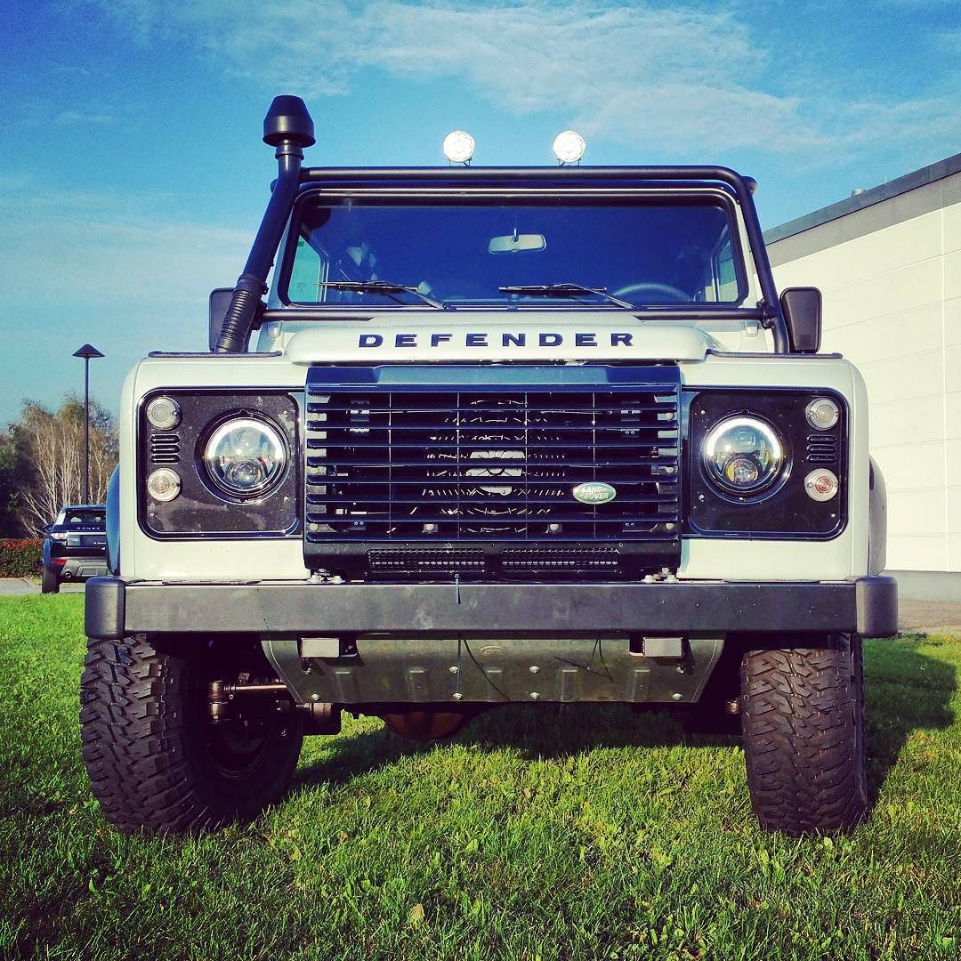 Frontlicht design a new project has been finished part defender readytoexplore