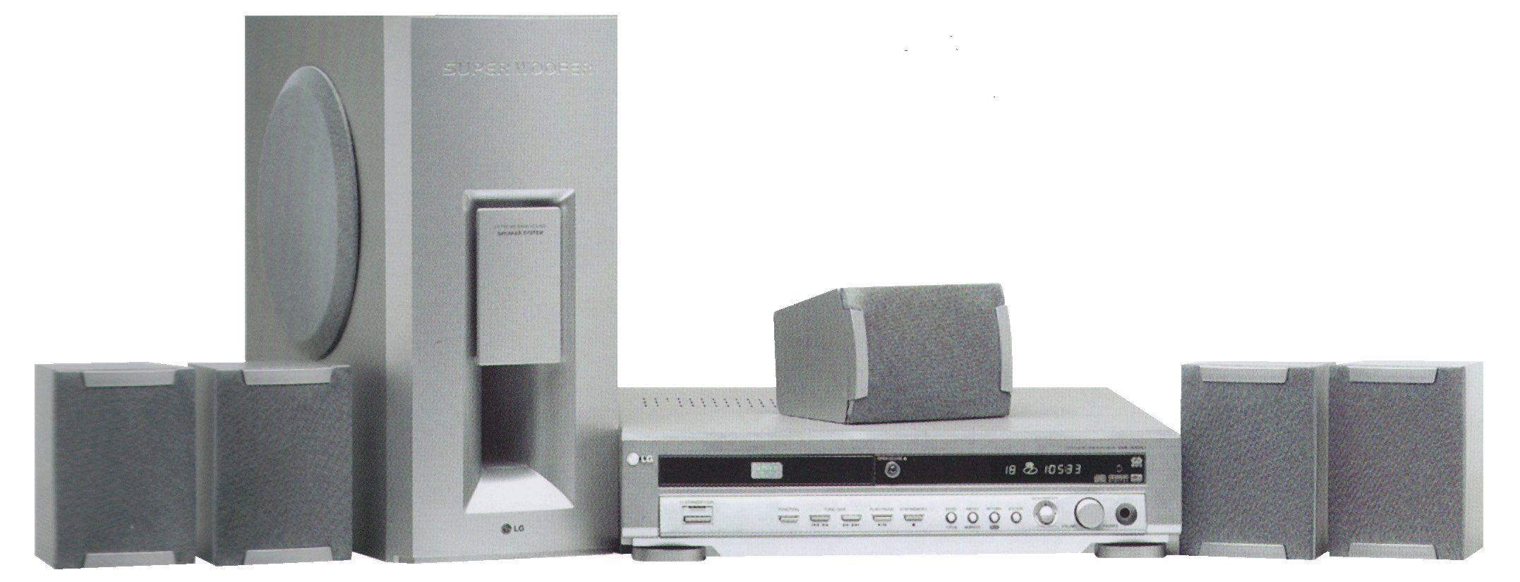 Lg dvd home cinema system model da-3520   House plans and ideas ...