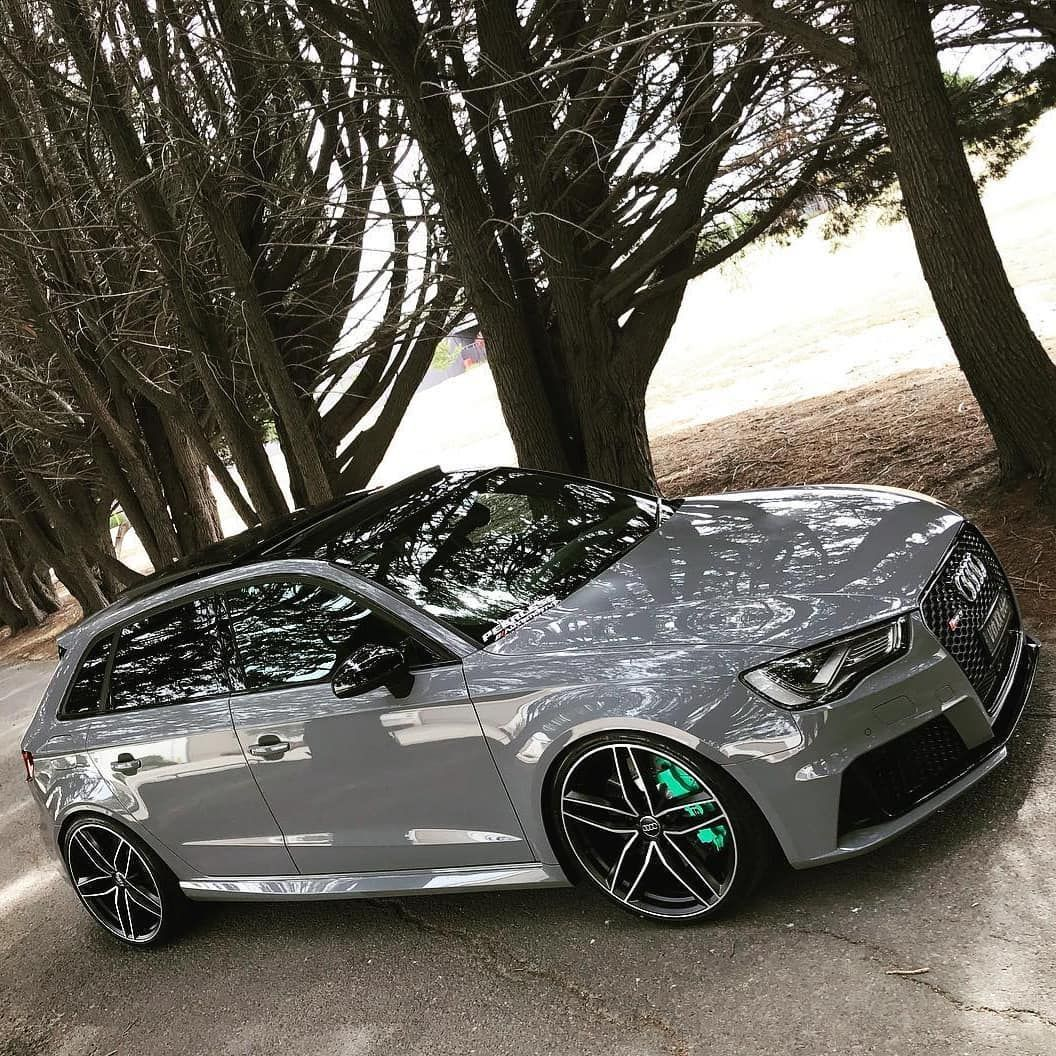 This Nardo Grey Audi RS3 is Spec'ed Just Perfectly!! 👌 ...