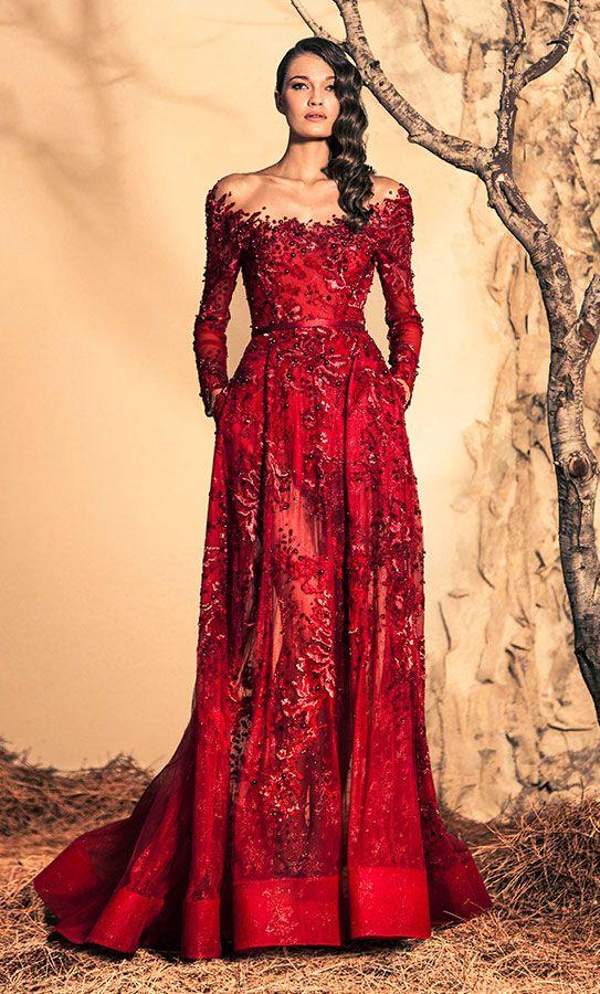 Ziad Nakad Haute Couture - Fall/Winter 2015 @Maysociety | WALK IN ...
