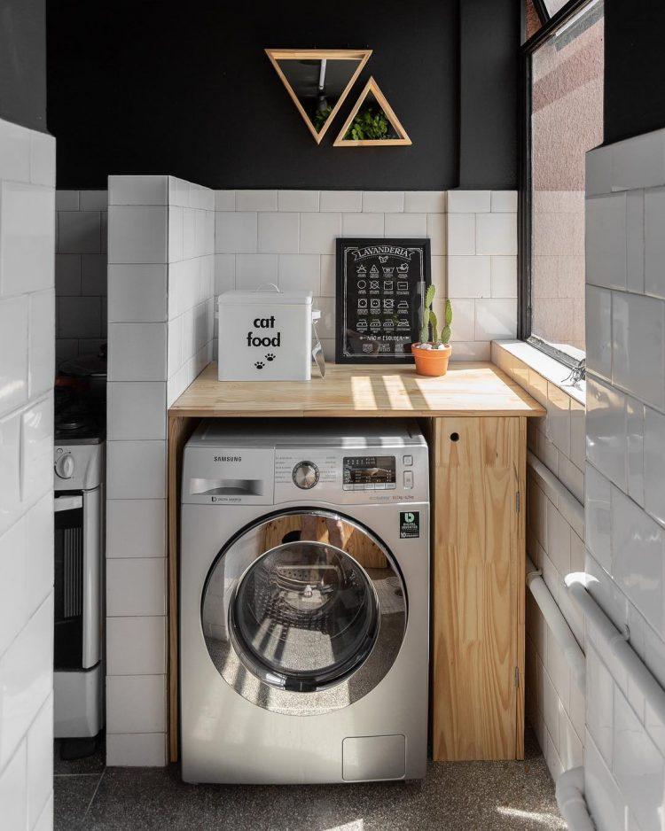 Antes y después: ideas fáciles para renovar el lavadero sin obra