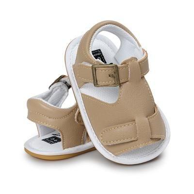 hard rubber bottom Baby sandals boys girls shoes | Girls ...