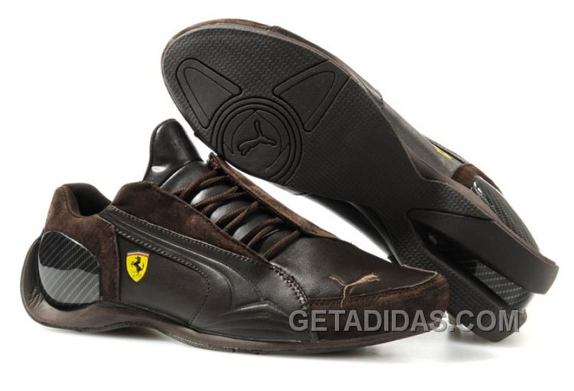 ad4ec0b44fe Discover the Men s Puma Ferrari IV In Brown Authentic group at  Pumacreepers. Shop Men s Puma Ferrari IV In Brown Authentic black