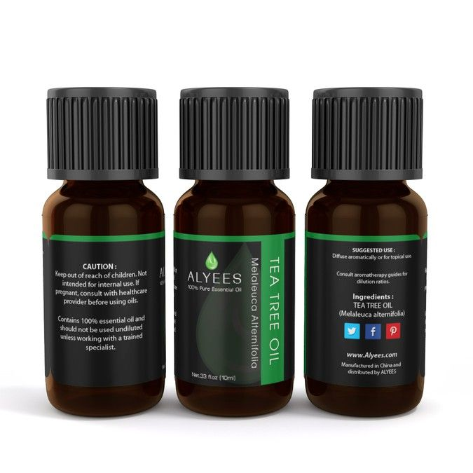 Essential oils wrap and bottle label by syakuro