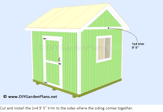 How To Install The Shed Shingles Shed Plans Shed Build