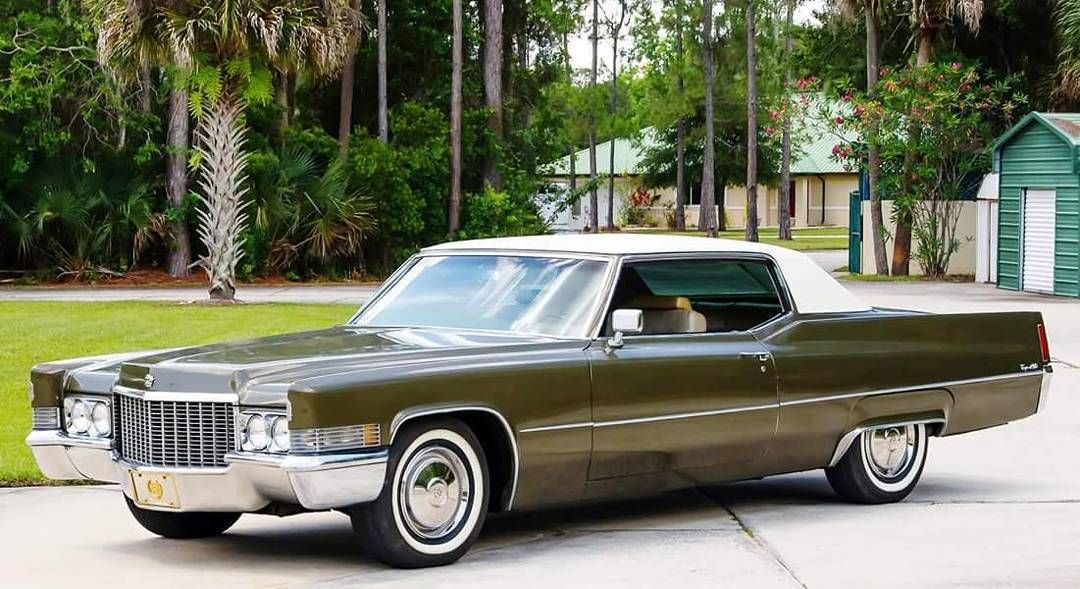 Pin by 🇺🇸 Paul Nadler 🌈 on Cadillac 1969 70