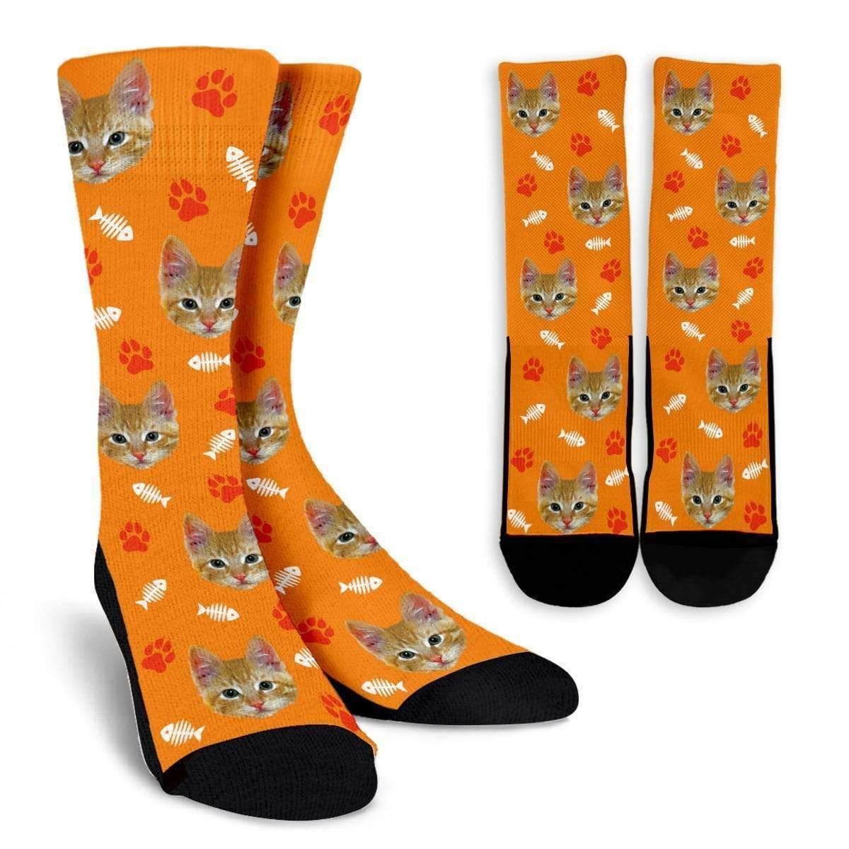 Custom Cat Socks (Best Seller) Cat lover gifts, Socks, Cats