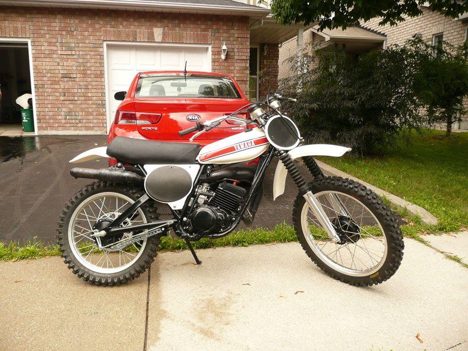 1976- Yamaha YZ125C Canadian Midel | Motocross bikes ...
