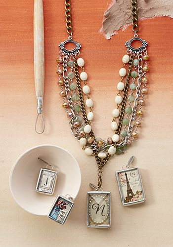 """Stillwater Necklace  by Jewel Kade. Jade, Czech crystal, brass and silver tones. 20"""" - 24"""". Stillwater bracelet and Stillwater earrings also available"""