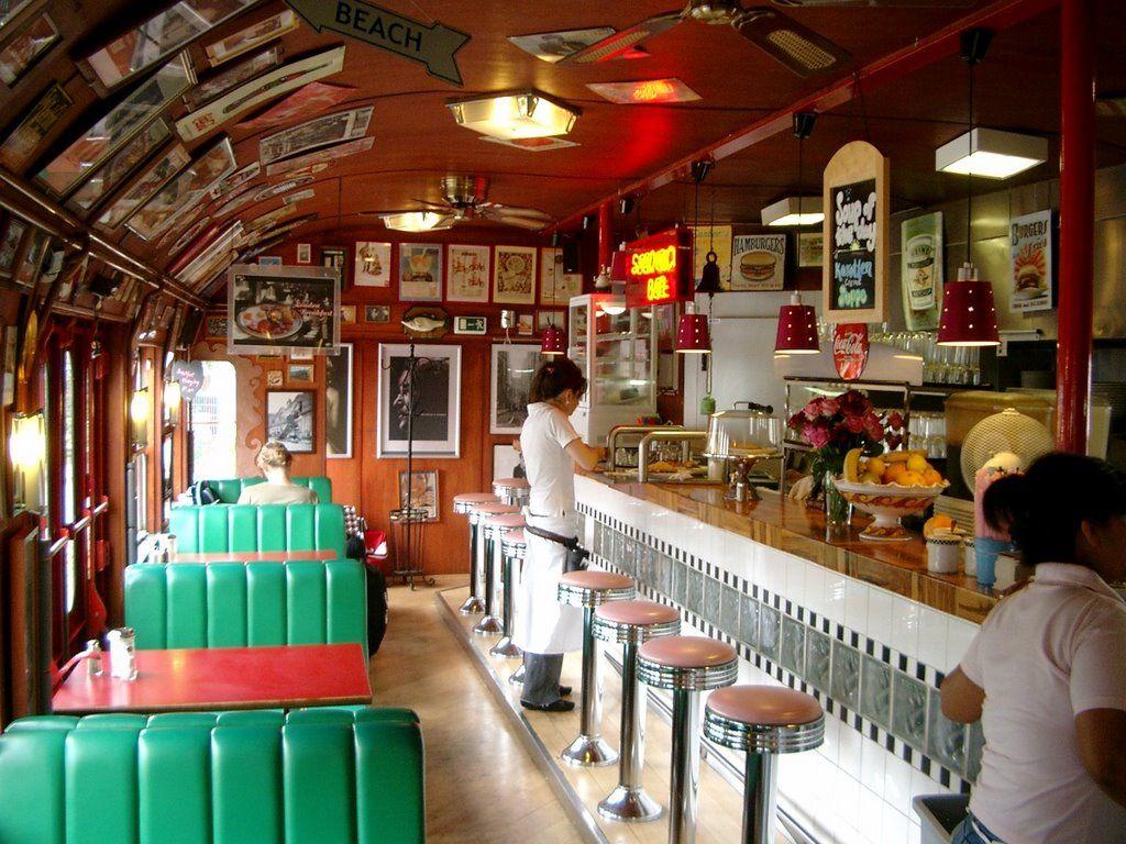 Inside Mandys Diner Heidelberg By Majoney