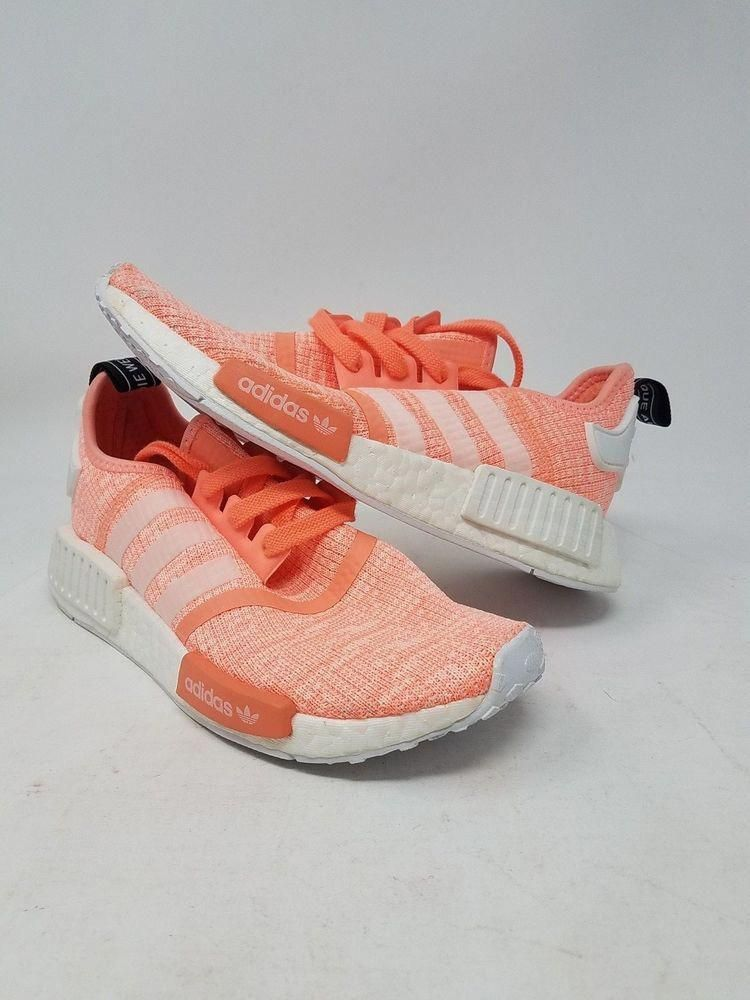 d4b38a7a095606 ADIDAS NMD R1 W BY3034 ORANGE WHITE ORIGINALS RUNNING WOMEN S SIZE 5.5 WOB   fashion  clothing  shoes  accessories  womensshoes  athleticshoes (ebay  link)   ...