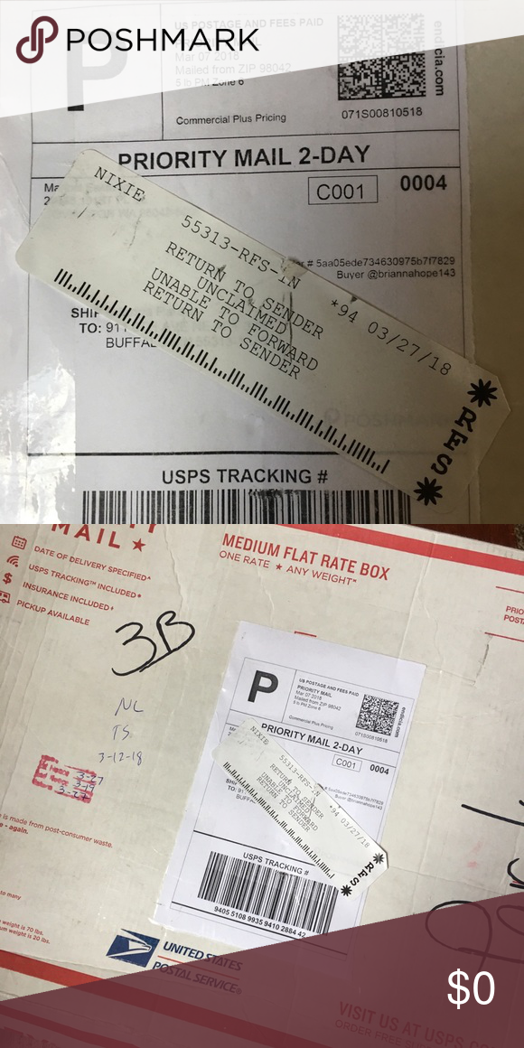 Package Return To Sender Send Back To Me Return To Sender I Have No Idea I Apologized For Any Reason Briann The Unit I Am Sorry Personalized Items