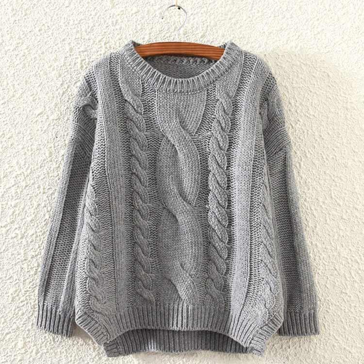 Cupshe Warm And Wonderful Twist Casual Sweater