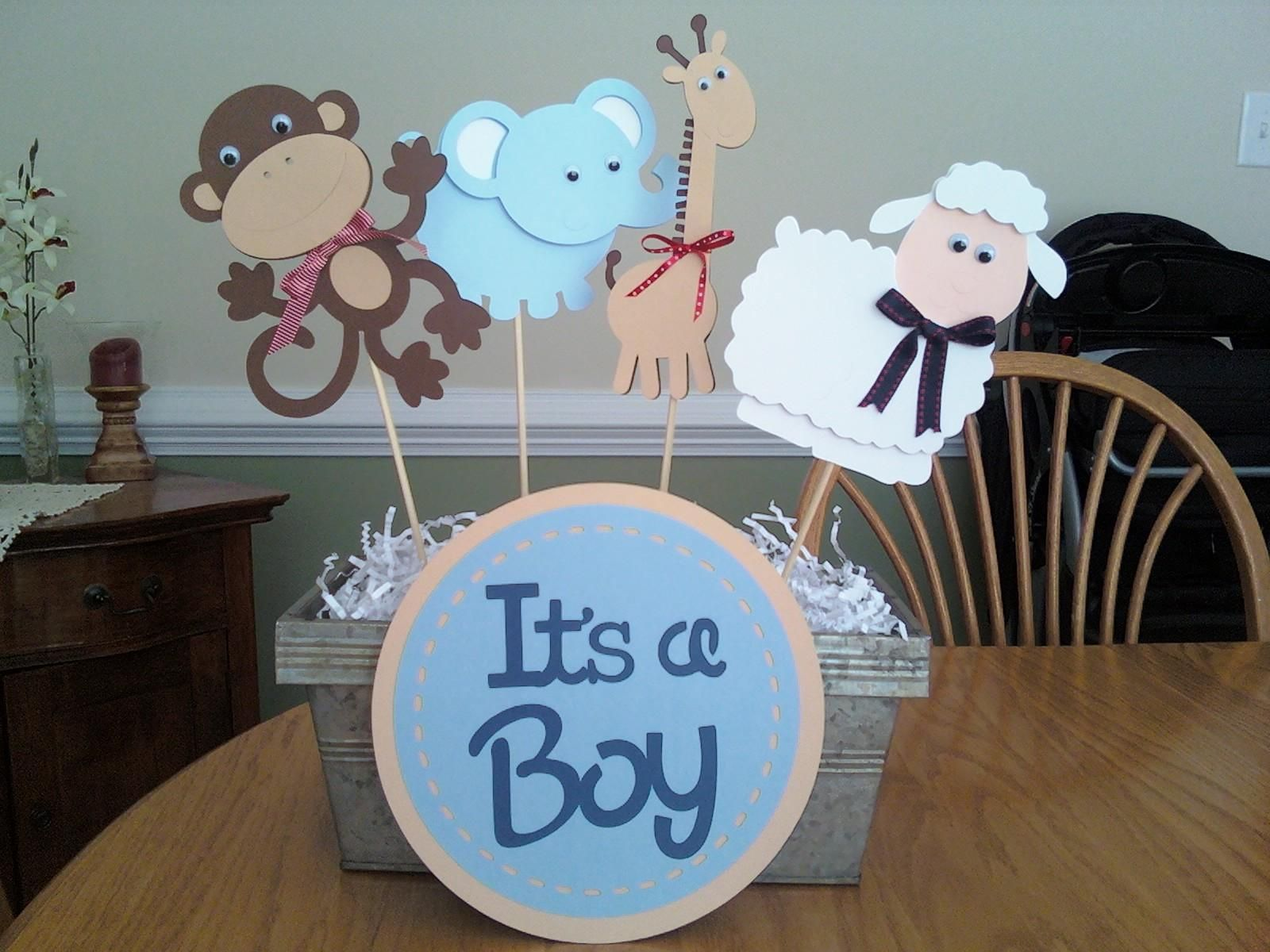 Boy Baby Shower Centerpieces Ideas