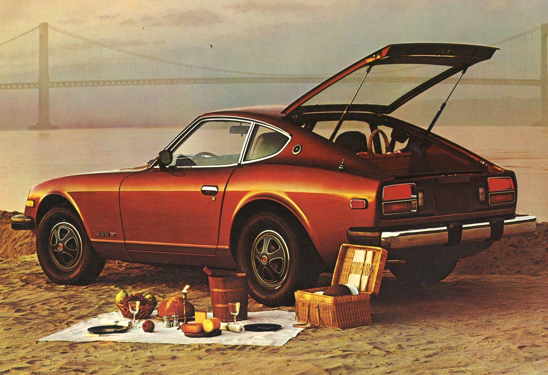 The personalized datsun 1976 280 z brochure