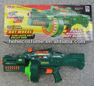 2012 new foam bullet army nerf gun $7.00~$9.00