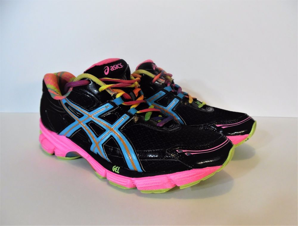 ASICS DUOMAX GEL Enhanced Women's Running Shoes Black T27BQ Size 9