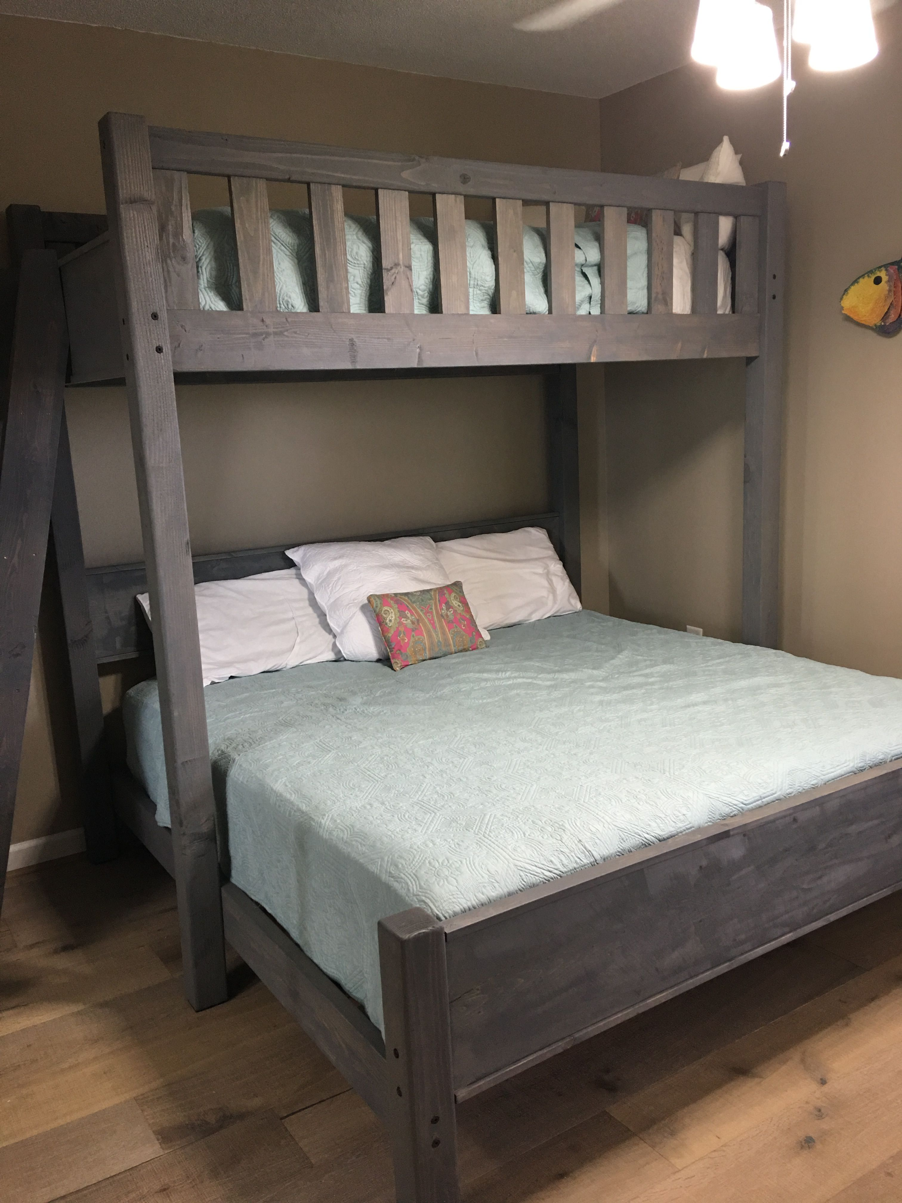 Twin Over King On The Beach Bunk Bed Designs Custom Bunk Beds