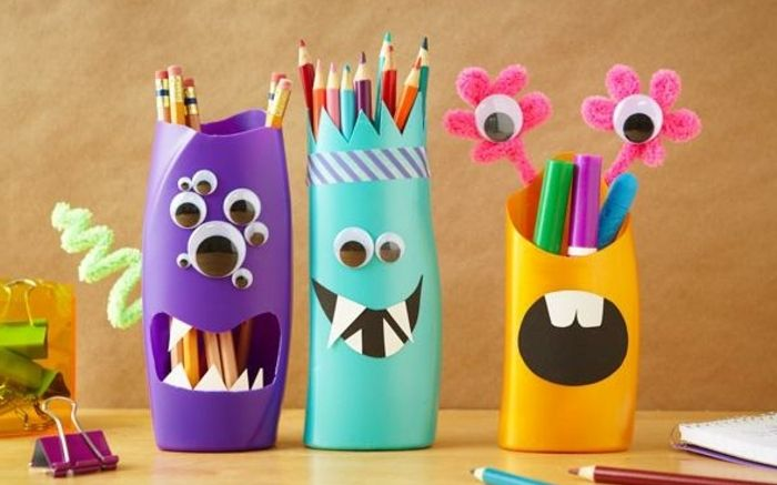 1001 id es pour fabriquer un pot crayon adorable soi - Idee de bureau a faire soi meme ...
