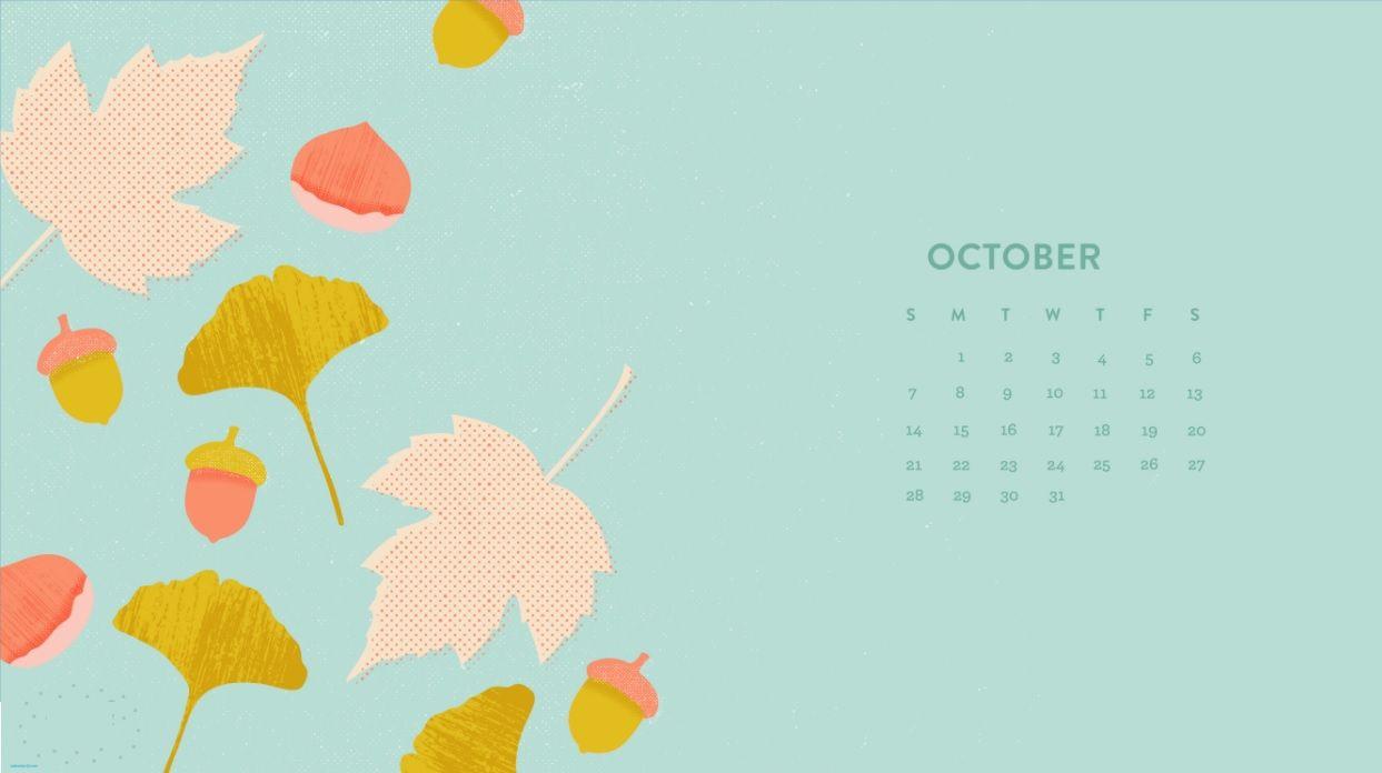 October 2018 Calendar Wallpapers Calendar Wallpaper, Desktop Calendar, Calendar 2018