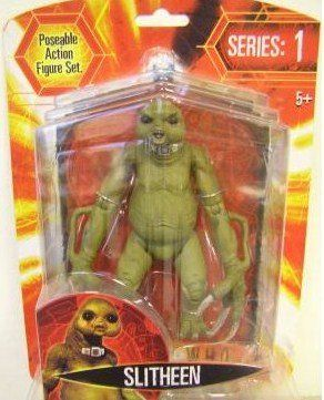 DR DOCTOR WHO SLITHEEN ACTION FIGURE BBC SERIES